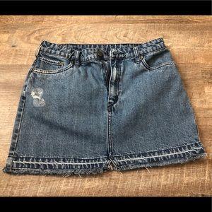 Free People Blue Jean Skirt NWOT